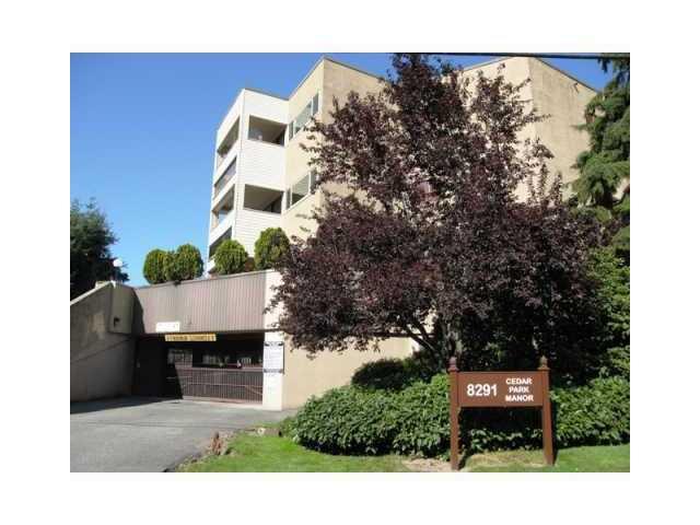 "Main Photo: 109 8291 PARK Road in Richmond: Brighouse Condo for sale in ""CEDARPARK MANOR"" : MLS®# V821033"