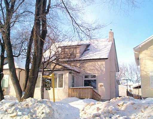 Main Photo: 437 DE LA MORENIE Street in WINNIPEG: St Boniface Single Family Detached for sale (South East Winnipeg)  : MLS®# 2601495