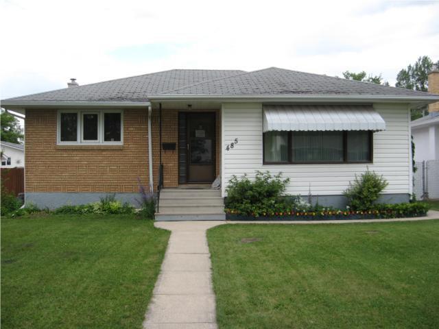 Main Photo: 485 Oakview Avenue in WINNIPEG: East Kildonan Residential for sale (North East Winnipeg)  : MLS®# 1014022
