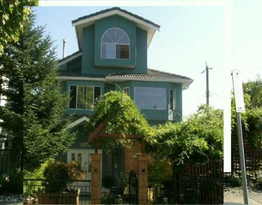 Main Photo: 4872 JAMES Street in Vancouver: Main House for sale (Vancouver East)  : MLS®# V614451