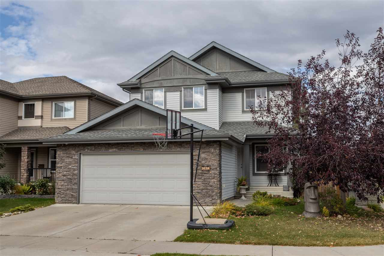 Main Photo: 1638 MALONE Way in Edmonton: Zone 14 House for sale : MLS®# E4175221
