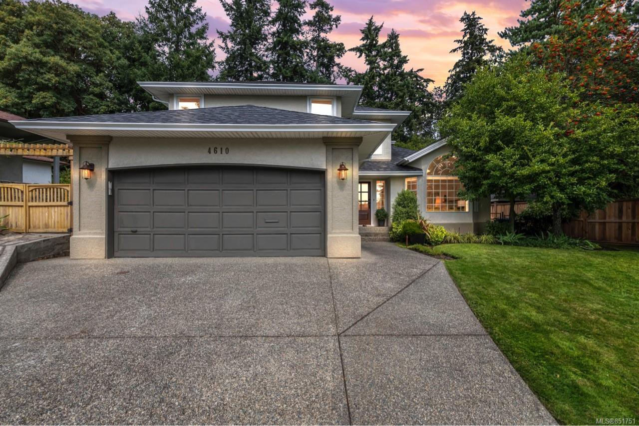 Main Photo: 4610 Deventer Dr in : SE Broadmead House for sale (Saanich East)  : MLS®# 851751
