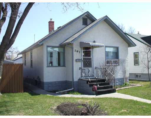 Main Photo: 281 ST MARY'S Road in WINNIPEG: St Boniface Residential for sale (South East Winnipeg)  : MLS®# 2807302