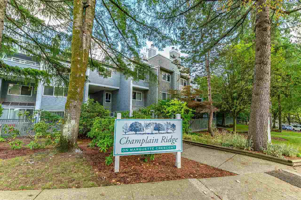 """Main Photo: 3360 MARQUETTE Crescent in Vancouver: Champlain Heights Townhouse for sale in """"CHAMPLAN RIDEGE"""" (Vancouver East)  : MLS®# R2404456"""