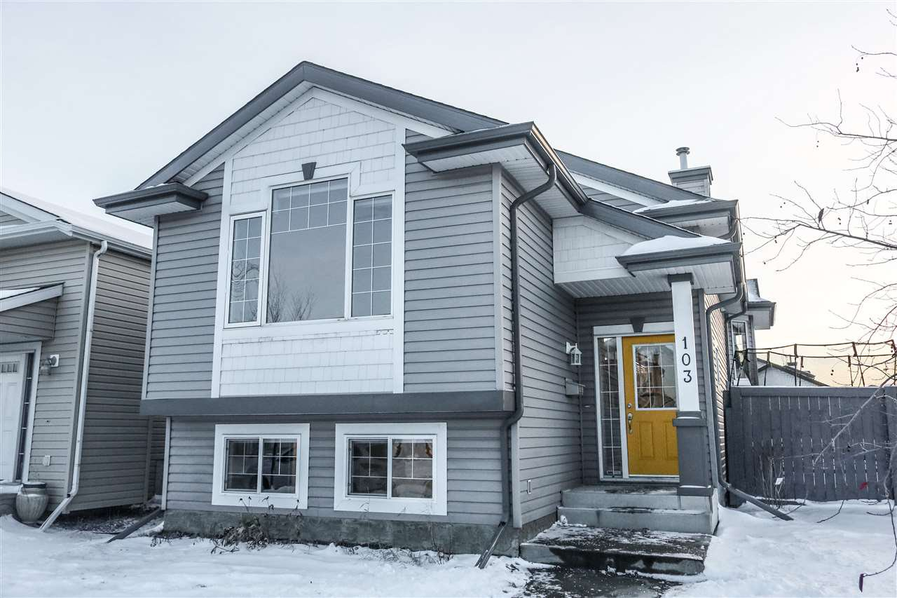Main Photo: 103 BRINTNELL Boulevard in Edmonton: Zone 03 House for sale : MLS®# E4221027