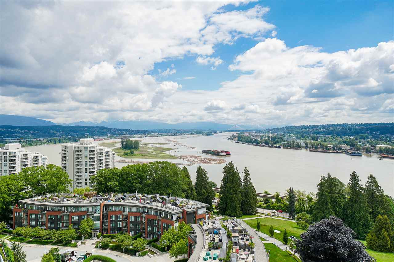 "Main Photo: 1403 15 E ROYAL Avenue in New Westminster: Fraserview NW Condo for sale in ""Victoria Hill"" : MLS®# R2461883"