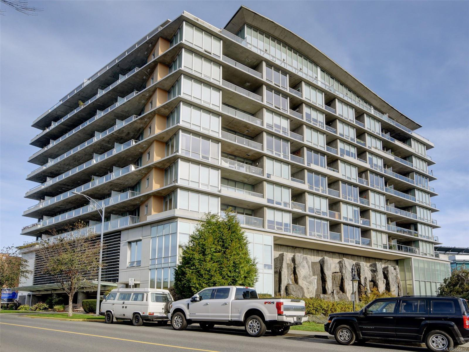 Main Photo: 801 160 Wilson St in : VW Victoria West Condo for sale (Victoria West)  : MLS®# 858417