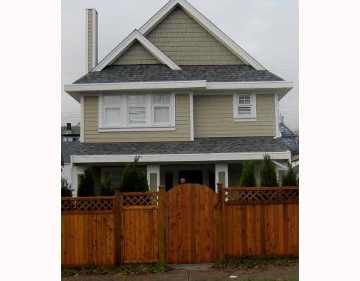 Main Photo: 1663 VICTORIA Drive in Vancouver: Grandview VE House 1/2 Duplex for sale (Vancouver East)  : MLS®# V799750