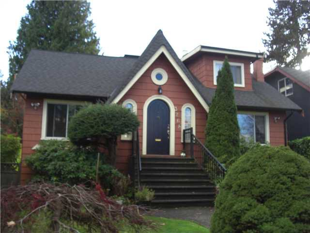 Main Photo: 3268 W 26TH Avenue in Vancouver: MacKenzie Heights House for sale (Vancouver West)  : MLS®# V858054