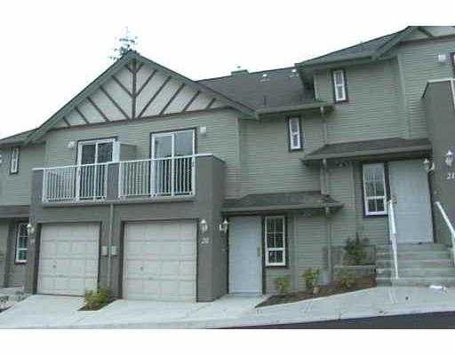 "Main Photo: 20 11229 232ND ST in Maple Ridge: East Central Townhouse for sale in ""FOXFIELD"" : MLS®# V597772"