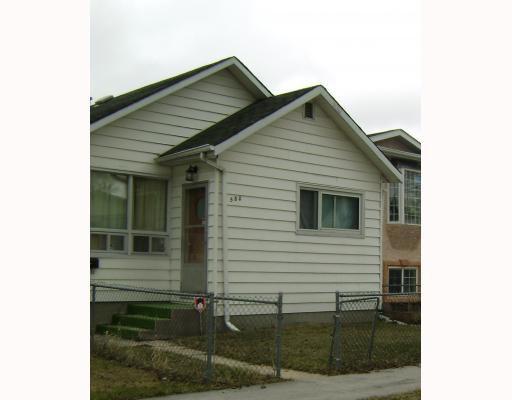 Main Photo: 580 BANNERMAN Avenue in WINNIPEG: North End Residential for sale (North West Winnipeg)  : MLS®# 2906157