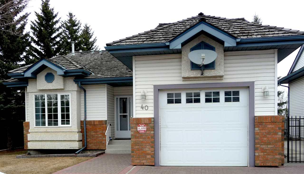Main Photo: 40 10 Blackburn Drive W in Edmonton: Zone 55 Condo for sale : MLS®# E4177296