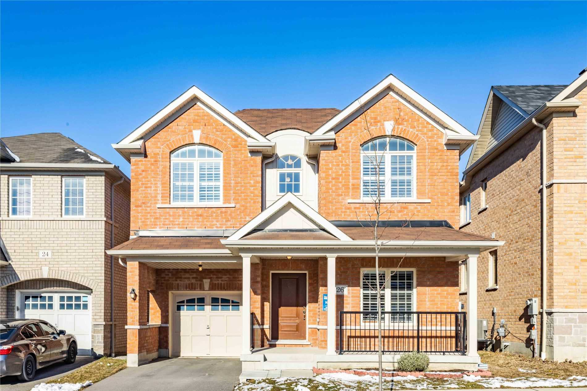 Main Photo: 26 Raithby Crescent in Ajax: Central East House (2-Storey) for sale : MLS®# E5079645