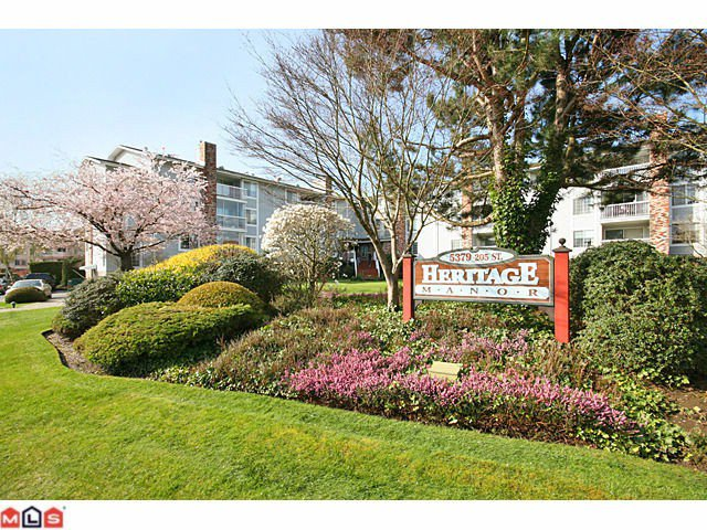 "Main Photo: 223 5379 205TH Street in Langley: Langley City Condo for sale in ""HERITAGE MANOR"" : MLS®# F1007495"