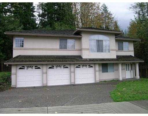 Main Photo: 3309 ROBSON Drive in Coquitlam: Hockaday House for sale : MLS®# V772410