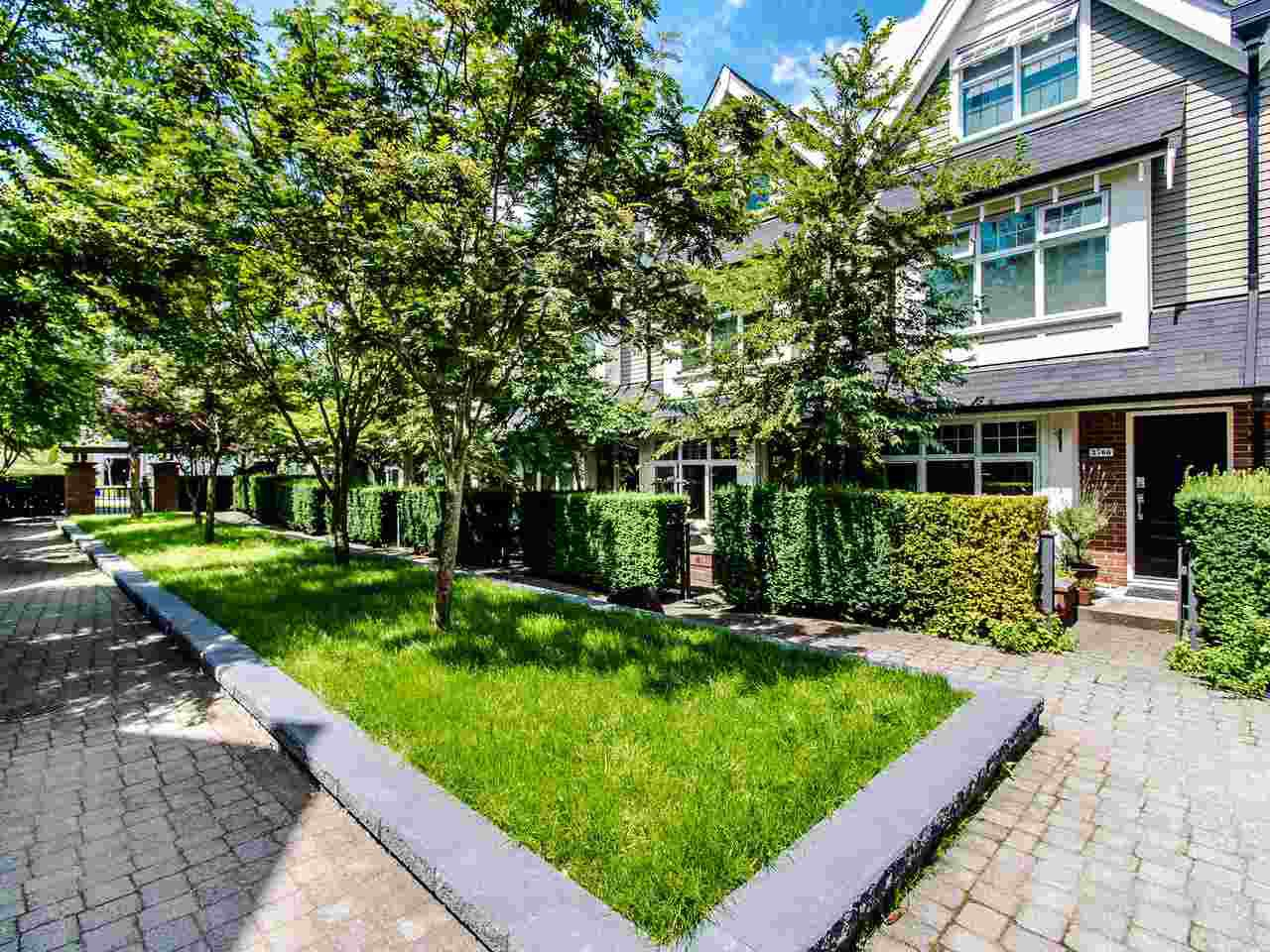 "Main Photo: 3762 WELWYN Street in Vancouver: Victoria VE Townhouse for sale in ""STORIES"" (Vancouver East)  : MLS®# R2476190"