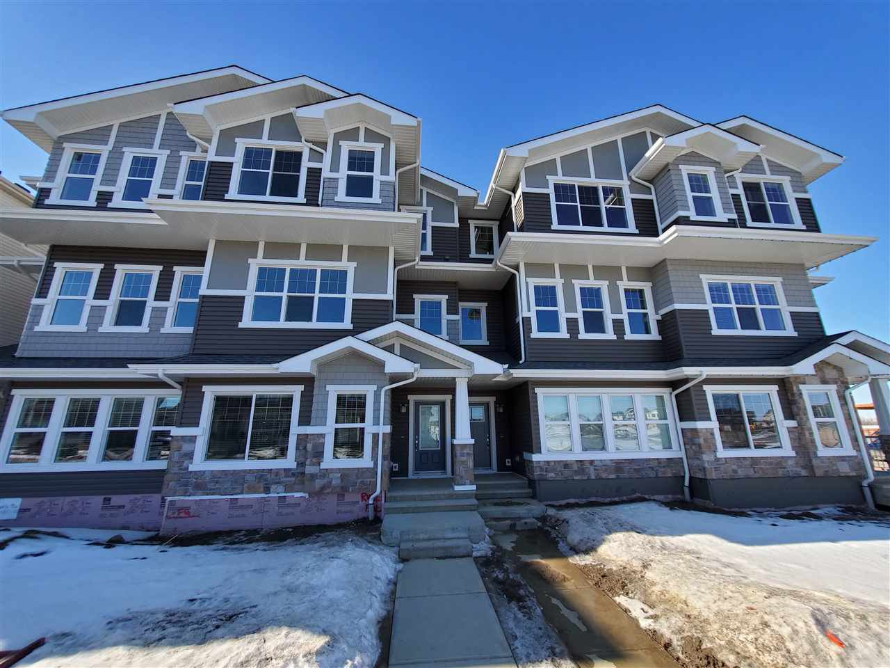 Main Photo:  in Edmonton: Zone 55 Attached Home for sale : MLS®# E4181006