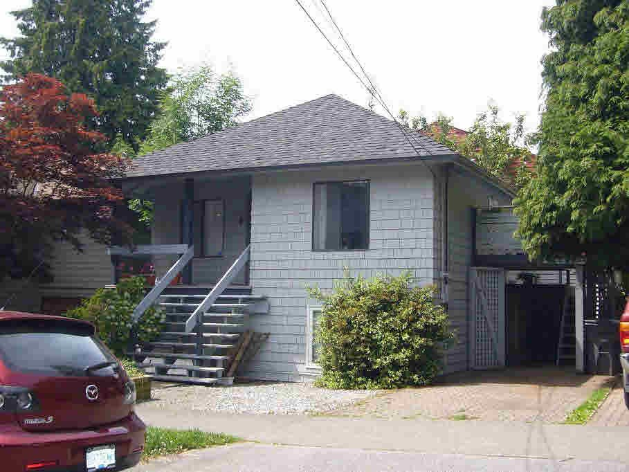 Main Photo: 2325 VINE STREET in : Kitsilano House for sale : MLS®# V660574