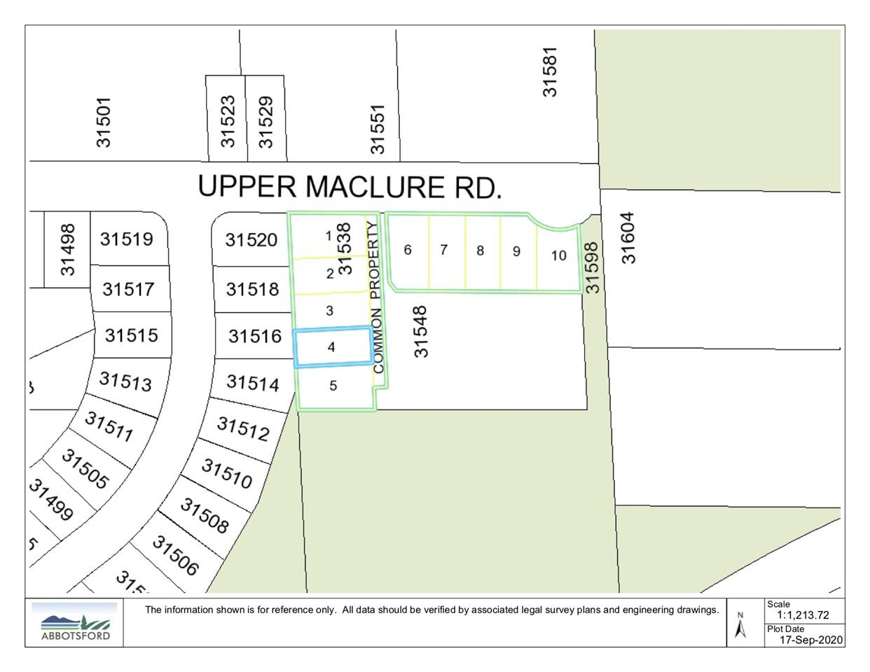 Main Photo: LT.4 31538 UPPER MACLURE Road in Abbotsford: Abbotsford West Land for sale : MLS®# R2499518