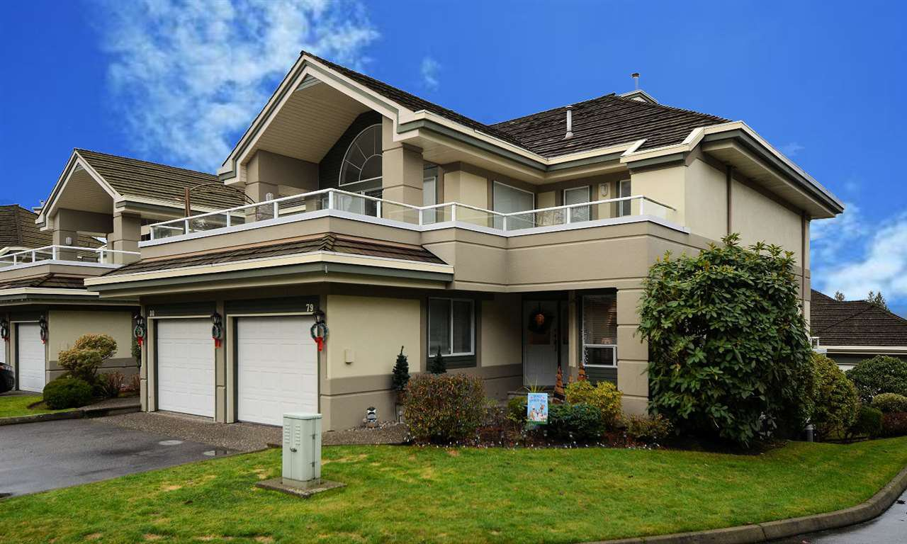 Main Photo: 79 4001 OLD CLAYBURN Road in Abbotsford: Abbotsford East Townhouse for sale : MLS®# R2524557