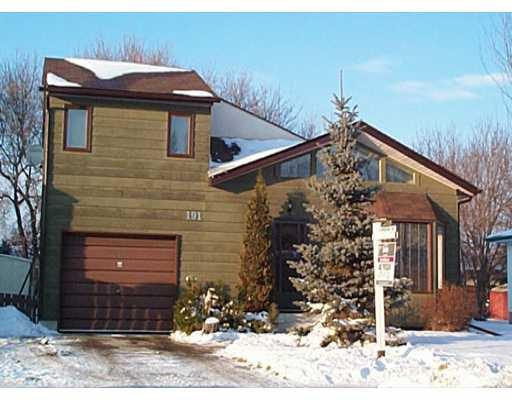 Main Photo: 191 RIEL Avenue in WINNIPEG: St Vital Single Family Detached for sale (South East Winnipeg)  : MLS®# 2116861