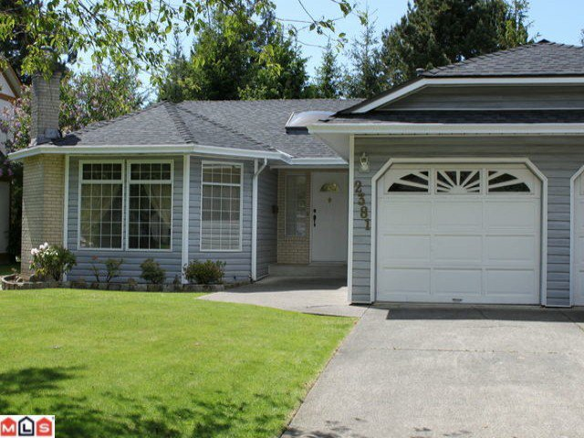Main Photo: 2381 150B Street in Surrey: Sunnyside Park Surrey House for sale (South Surrey White Rock)  : MLS®# F1014880