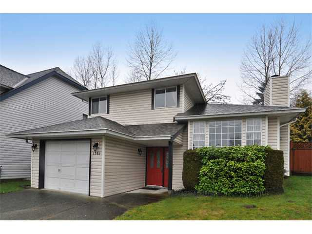 Main Photo: 1365 YARMOUTH Street in Port Coquitlam: Citadel PQ House for sale : MLS®# V862505