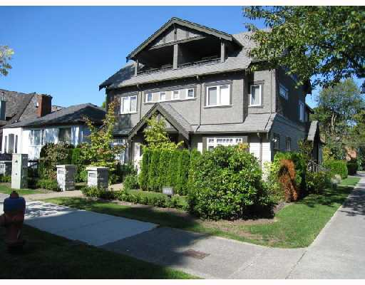 "Main Photo: 2007 W 13TH Avenue in Vancouver: Kitsilano House 1/2 Duplex for sale in ""THE MAPLES"" (Vancouver West)"