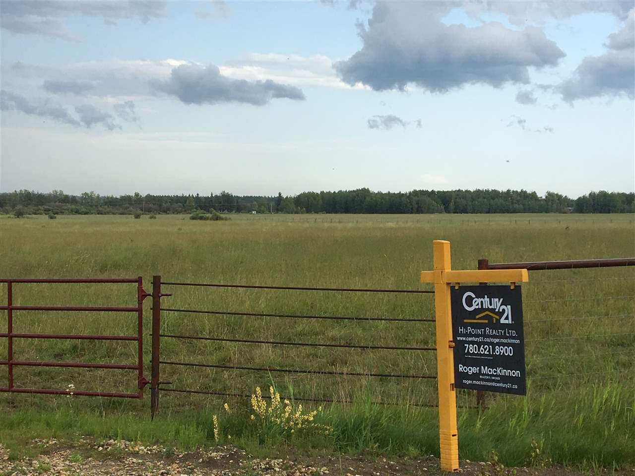Main Photo: Range Road 81: Rural Brazeau County Rural Land/Vacant Lot for sale : MLS®# E4168461