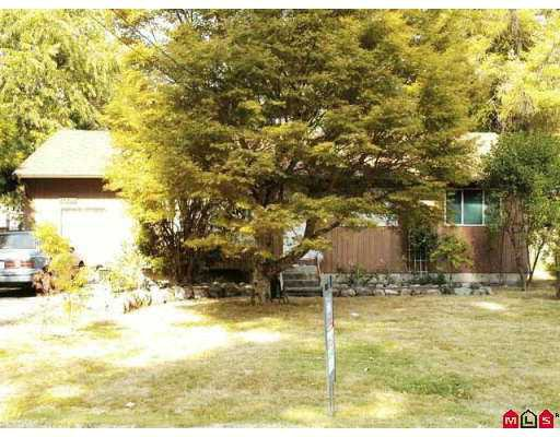 "Main Photo: 14933 GLEN AVON DR in Surrey: Bolivar Heights House for sale in ""BIRDLAND"" (North Surrey)  : MLS®# F2619429"