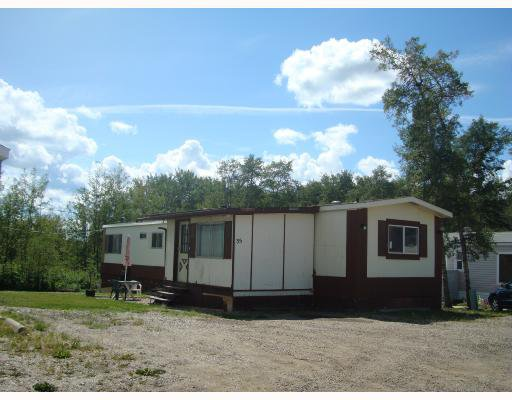 "Main Photo: 35 7414 FOREST LAWN Street in Fort_St._John: Fort St. John - Rural E 100th Manufactured Home for sale in ""FOREST LAWN MOBILE HOME PARK"" (Fort St. John (Zone 60))  : MLS®# N185076"