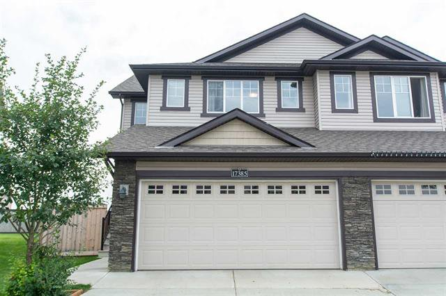 Main Photo: 17385 8A AV SW in Edmonton: Zone 56 House Half Duplex for sale : MLS®# E4167826