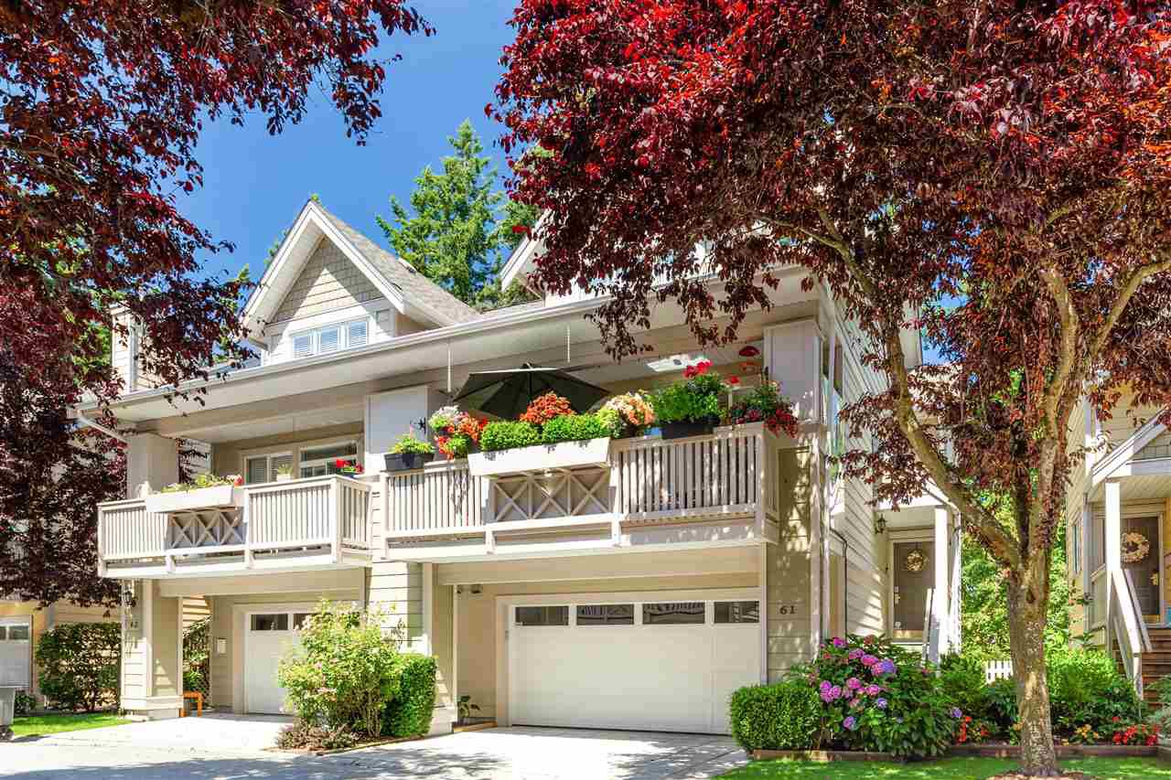 """Main Photo: 61 2588 152 Street in Surrey: King George Corridor Townhouse for sale in """"Woodgrove"""" (South Surrey White Rock)  : MLS®# R2480790"""