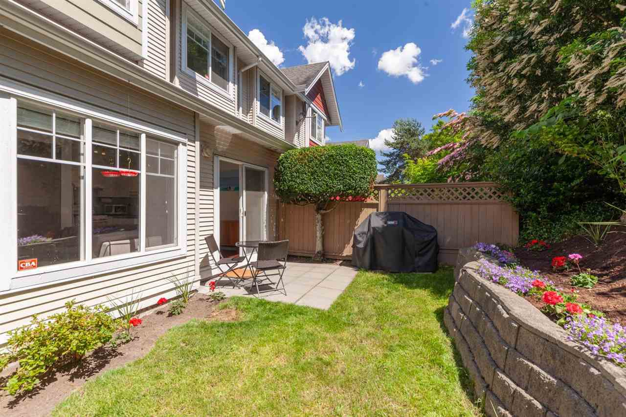 "Main Photo: 23 4711 BLAIR Drive in Richmond: West Cambie Townhouse for sale in ""SOMMERTON"" : MLS®# R2396363"