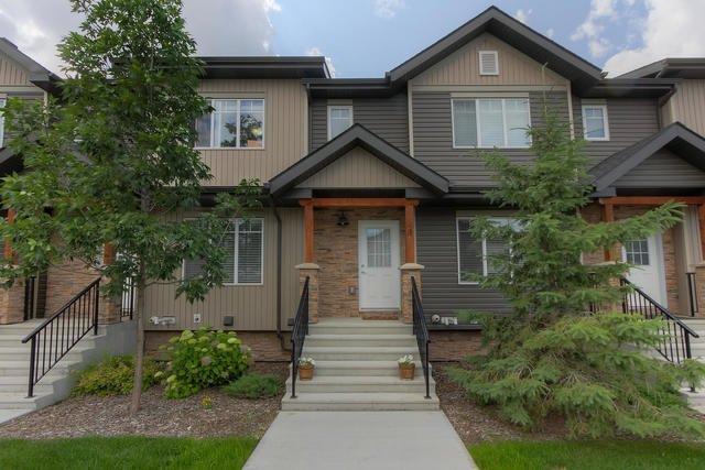 Main Photo: 3 9515 160 AV NW in Edmonton: Zone 28 Townhouse for sale : MLS®# E4166148