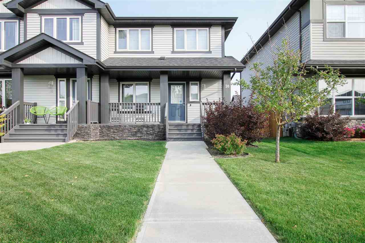 Main Photo: 20 ABBEY Road: Sherwood Park Attached Home for sale : MLS®# E4215195