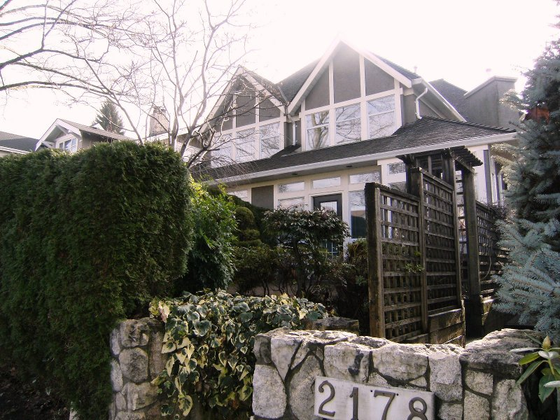 Main Photo: 2178 W 15TH Avenue in Vancouver: Kitsilano 1/2 Duplex for sale (Vancouver West)  : MLS®# V806070