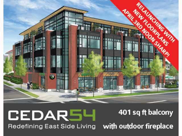 """Main Photo: TH3 2008 E 54TH Avenue in Vancouver: Fraserview VE Condo for sale in """"CEDAR54"""" (Vancouver East)  : MLS®# V819394"""
