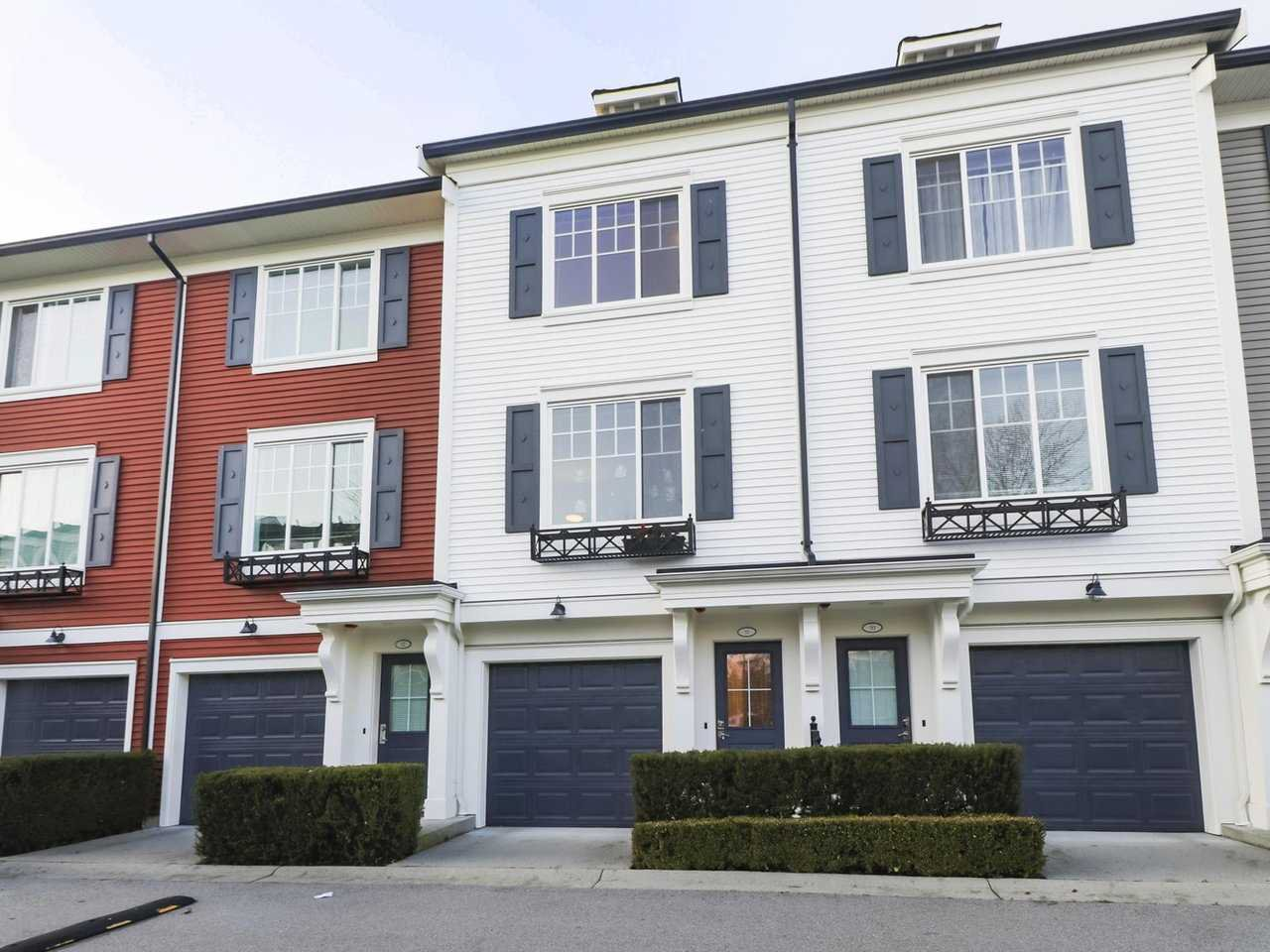 "Main Photo: 51 3010 RIVERBEND Drive in Coquitlam: Coquitlam East Townhouse for sale in ""Westwood"" : MLS®# R2426857"