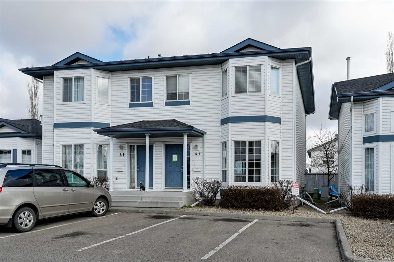 Main Photo: 43 16728 115 Street in Edmonton: Zone 27 Townhouse for sale : MLS®# E4197034