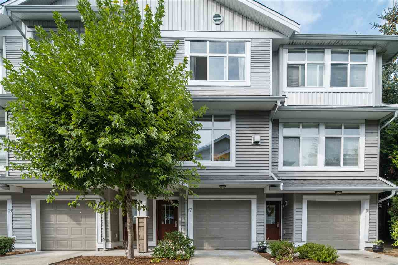 "Main Photo: 17 20449 66 Avenue in Langley: Willoughby Heights Townhouse for sale in ""NATURES LANDING"" : MLS®# R2499101"