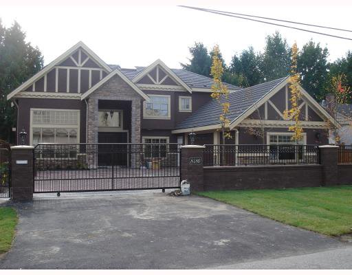 Main Photo: 8180 MOWBRAY Road in Richmond: Saunders House for sale : MLS®# V740332