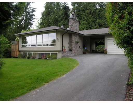 Main Photo: 574 W ST JAMES Road in North_Vancouver: Delbrook House for sale (North Vancouver)  : MLS®# V753119