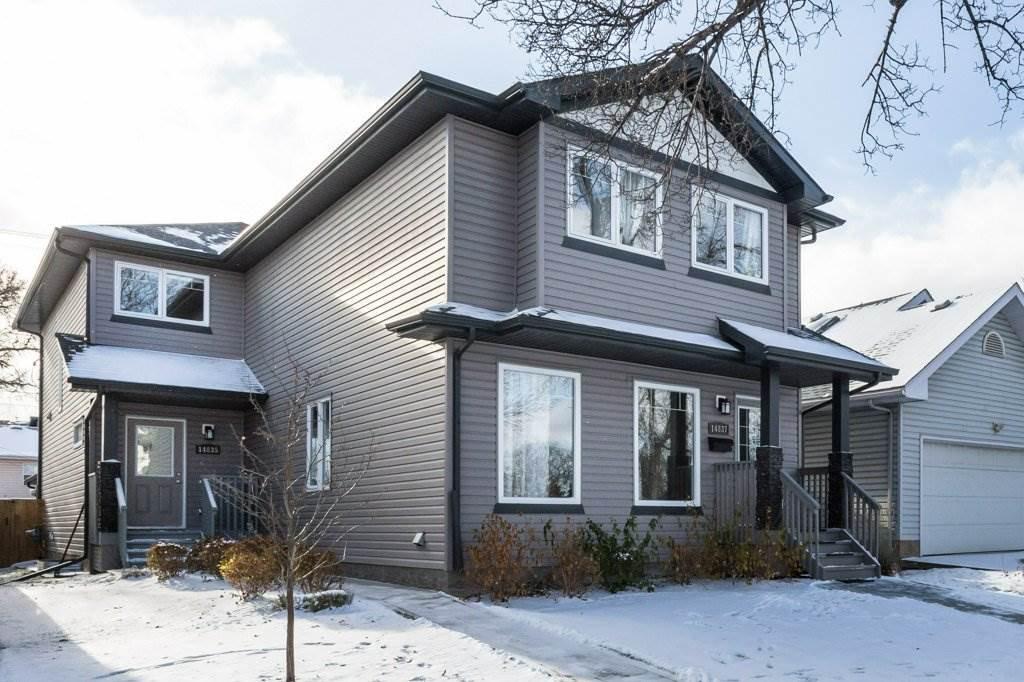 Main Photo: 14835 103 Avenue in Edmonton: Zone 21 House Half Duplex for sale : MLS®# E4179200