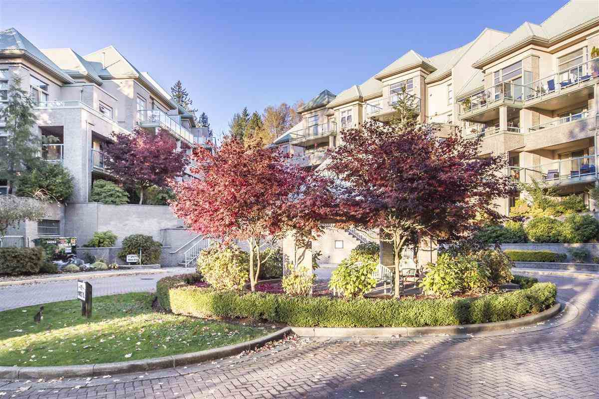 "Main Photo: 214A 301 MAUDE Road in Port Moody: North Shore Pt Moody Condo for sale in ""Heritage Grand"" : MLS®# R2466859"