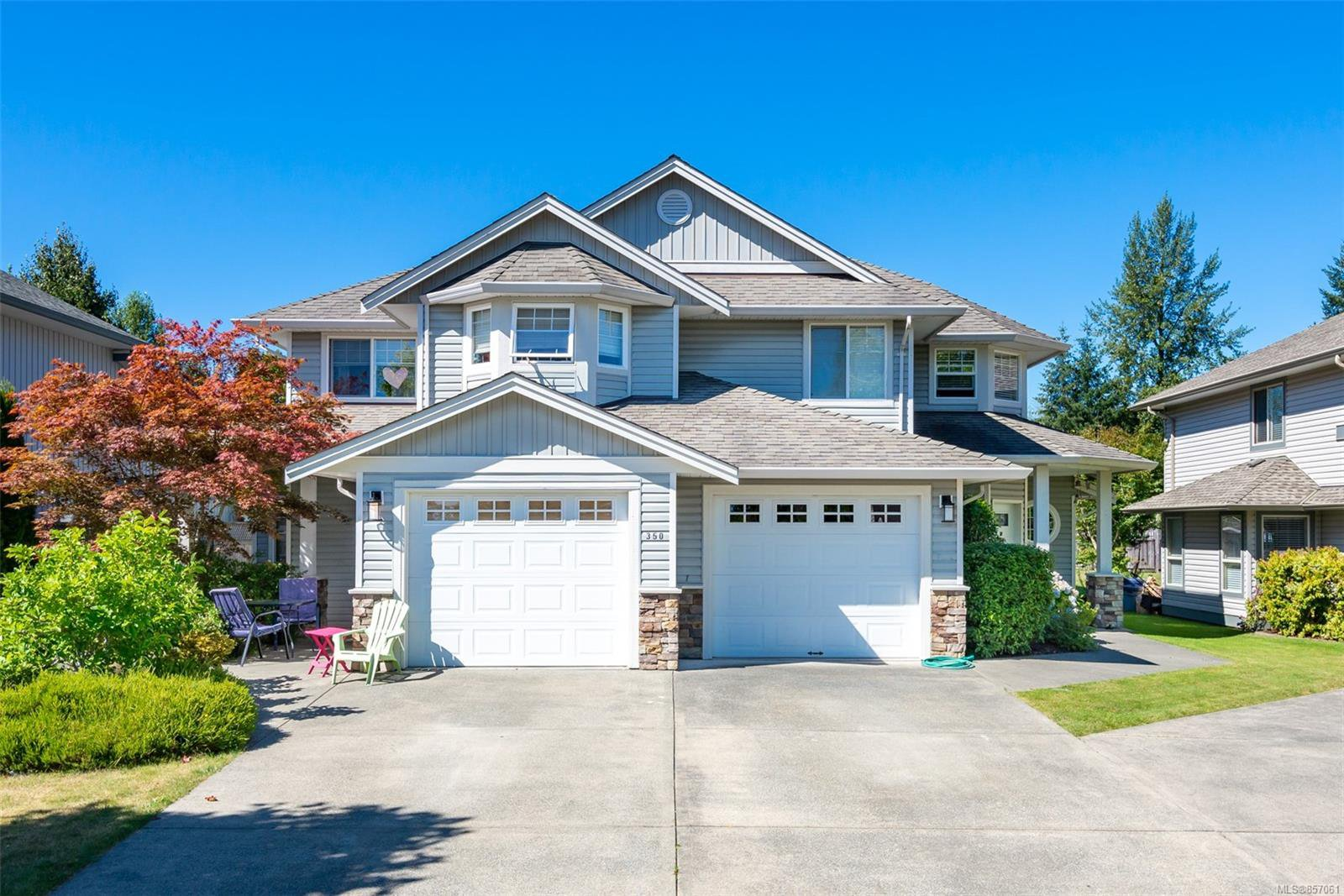 Main Photo: A 350 Carolyn Rd in : CR Campbell River Central Half Duplex for sale (Campbell River)  : MLS®# 857061
