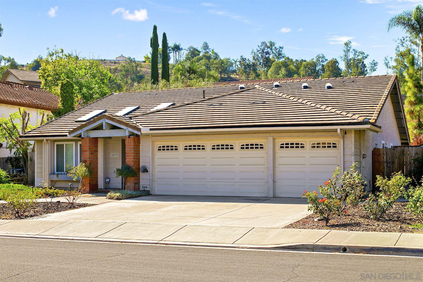 Main Photo: POWAY House for sale : 3 bedrooms : 14172 Woodcreek Rd