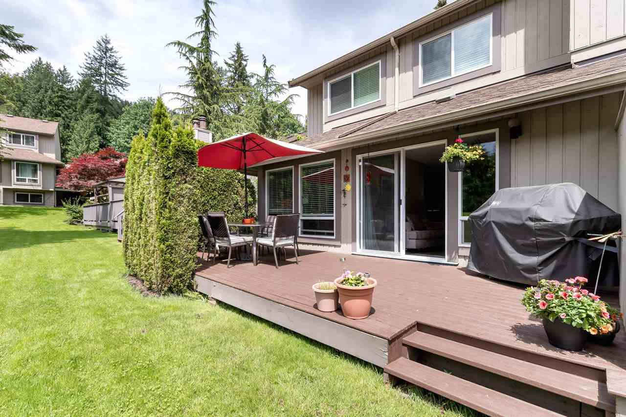"""Main Photo: 9573 WILLOWLEAF Place in Burnaby: Forest Hills BN Townhouse for sale in """"SPRING RIDGE"""" (Burnaby North)  : MLS®# R2462681"""