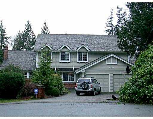 Main Photo: 5710 WESTPORT WD in West Vancouver: Eagle Harbour House for sale : MLS®# V570308