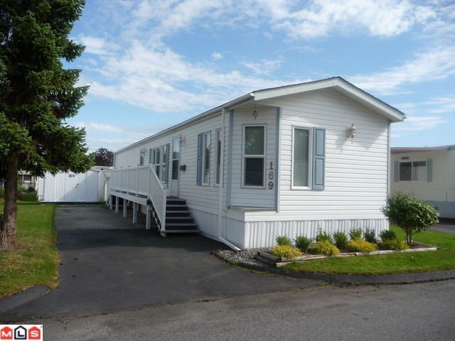 "Main Photo: 169 1840 160TH Street in Surrey: King George Corridor Manufactured Home for sale in ""Breakaway Bays"" (South Surrey White Rock)  : MLS®# F1118468"